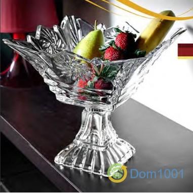 Стъклена фруктиера голяма